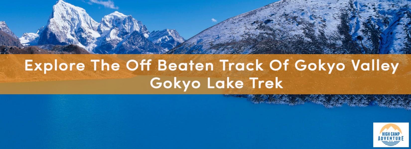 gokyo lake trek